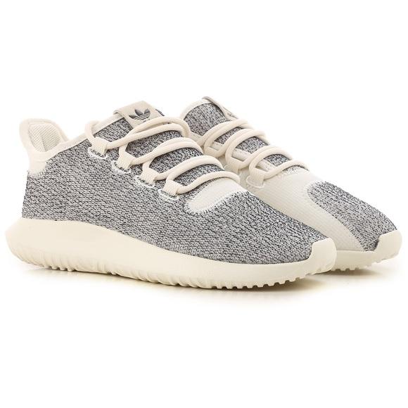 promo code 68582 08cae 🆕adidas Tubular Shadow Off-White/ Grey Shoes 10.5